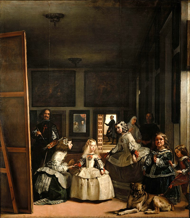 Gemälde von Diego Velázquez: Las Meninas